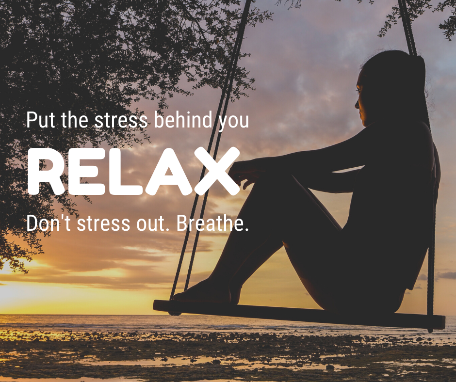 Put the stress behind you